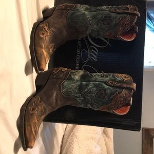 Worn once!! Cowboy Boots!!!
